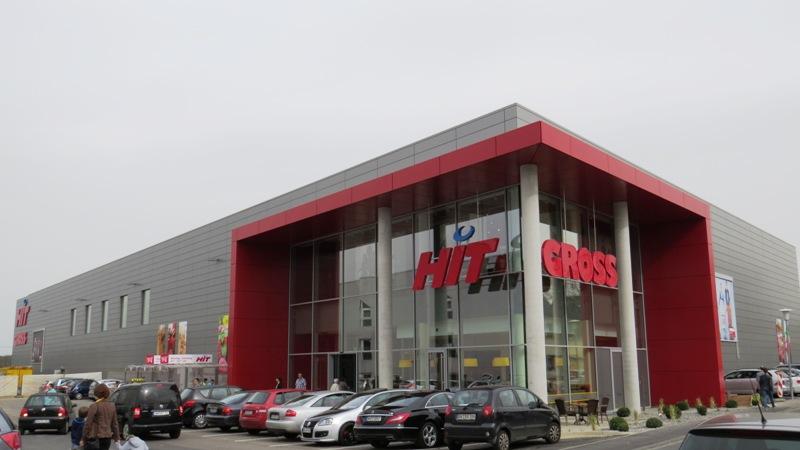 Kaufhaus mit EBENER Fassade
