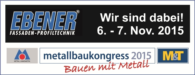 Metallbaukongress 2015