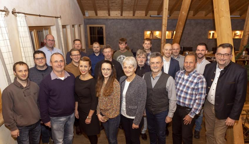 Steig-Alm Jubilare St. Weber 1_1A_Zeitung